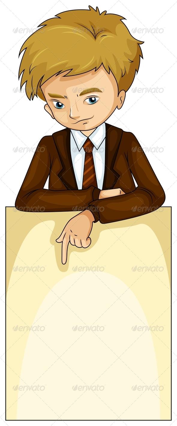 GraphicRiver Businessman 8045589
