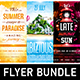 Summer Vacation Flyer Bundle - GraphicRiver Item for Sale