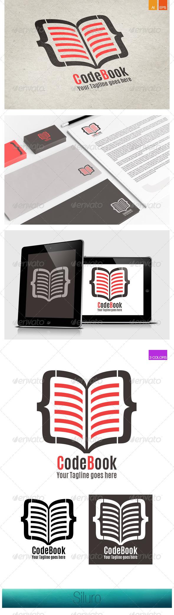 GraphicRiver CodeBook Logo 8045888