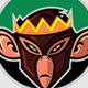 Mad King Monkey Logo - GraphicRiver Item for Sale