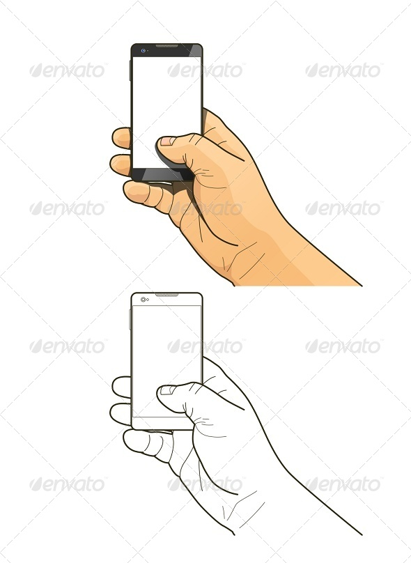 GraphicRiver Phone in Hand 8045964