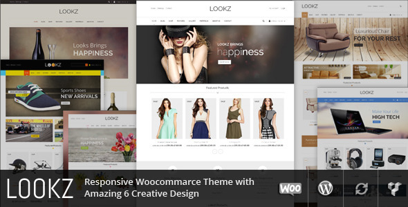 Lookz - Multipurpose Wordpress Theme - WooCommerce eCommerce