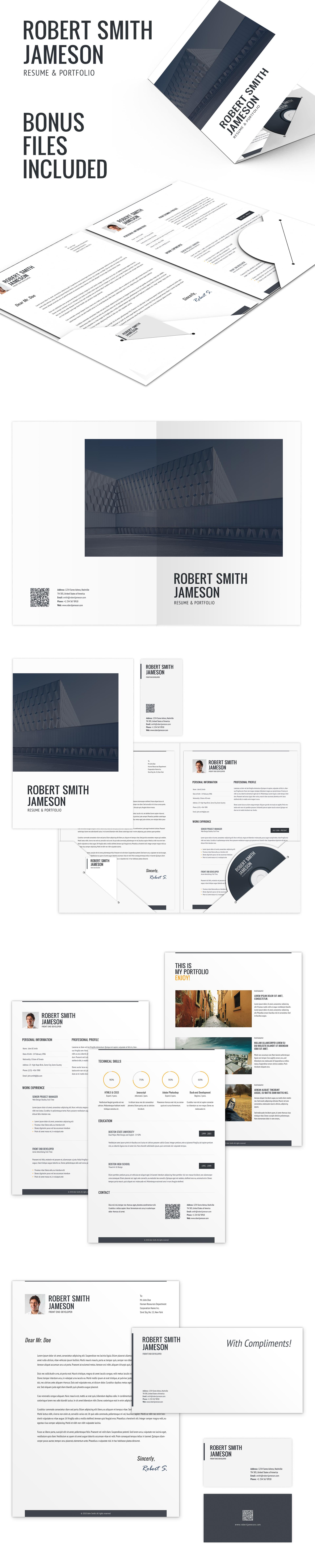 cv    portfolio  u2013 responsive resume by bitpub