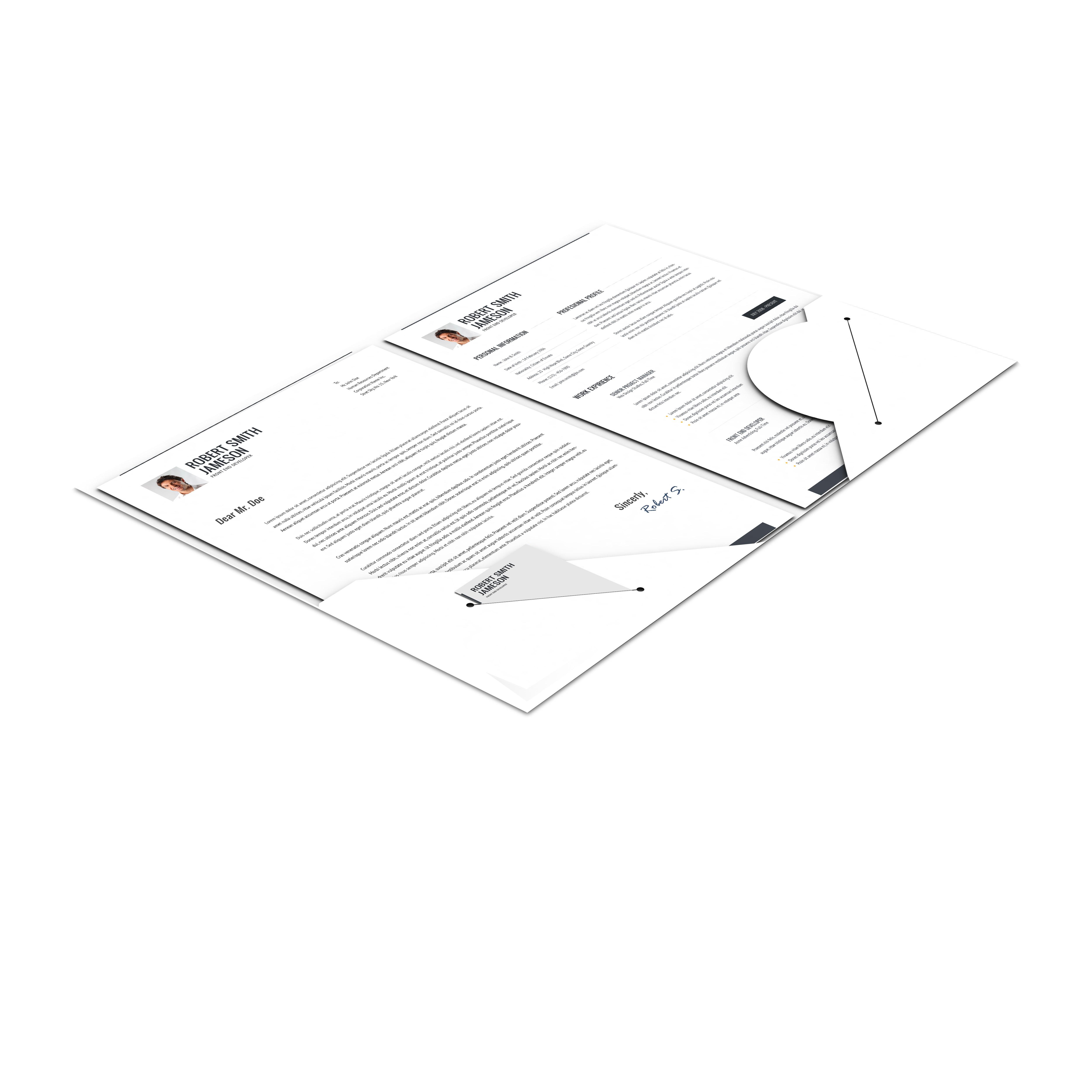 CV / Portfolio – Responsive Resume + 7 Bonuses!