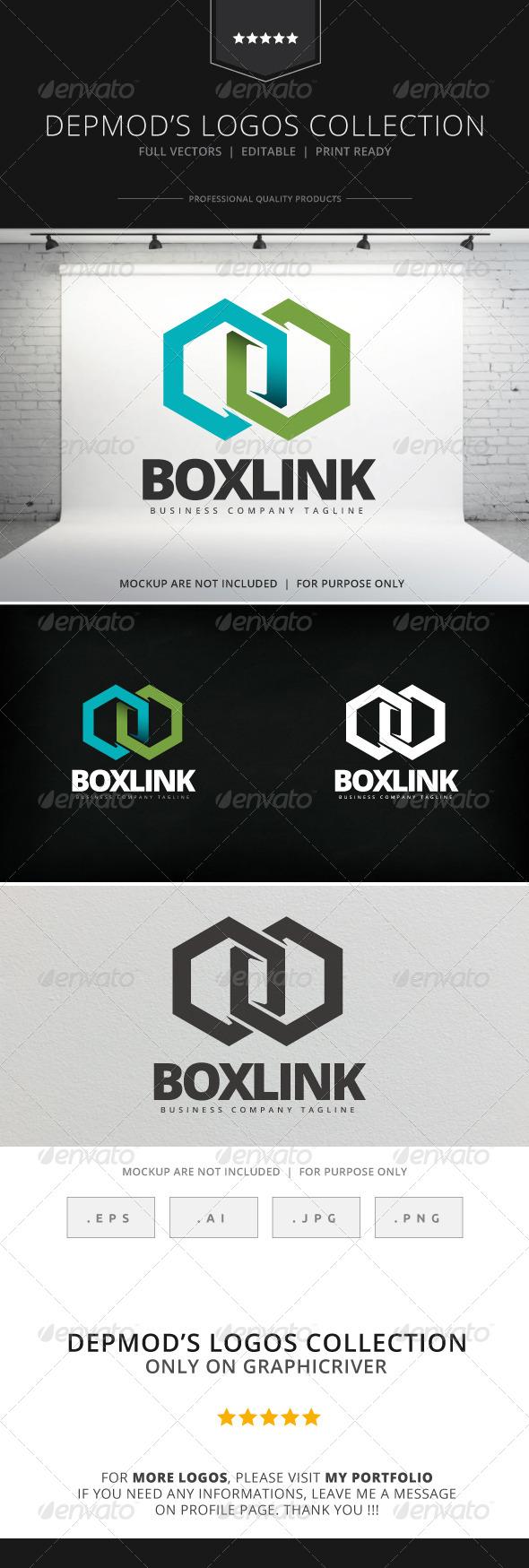 GraphicRiver Box Link Logo 8046891