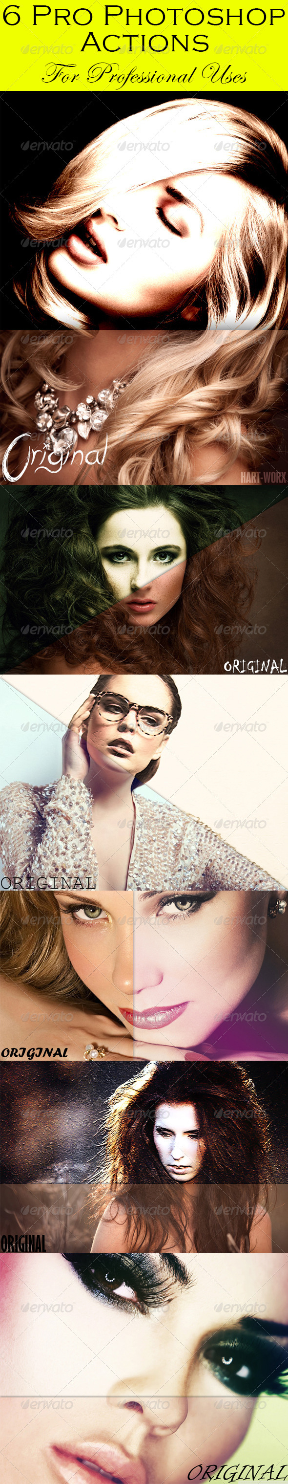 GraphicRiver 6 Pro Photoshop Actions 8046941