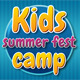 Kids Summer Camp Facebook Timeline - GraphicRiver Item for Sale