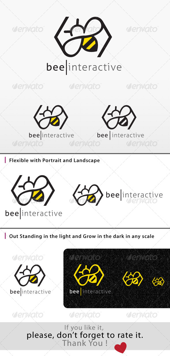 GraphicRiver Bee Logo 8047047