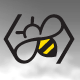 Bee Logo - GraphicRiver Item for Sale