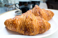 coffee and croissants - PhotoDune Item for Sale