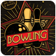 Bowling Magazine Ad, Poster or Flyer  - Flat & 3D - GraphicRiver Item for Sale