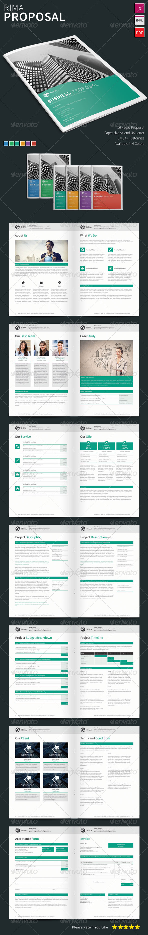 GraphicRiver Rima Proposal Template 8047713
