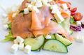 salad with smoked salmon - PhotoDune Item for Sale