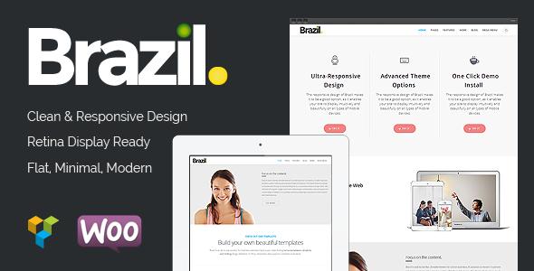 ThemeForest Brazil Wordpress Theme 8047735