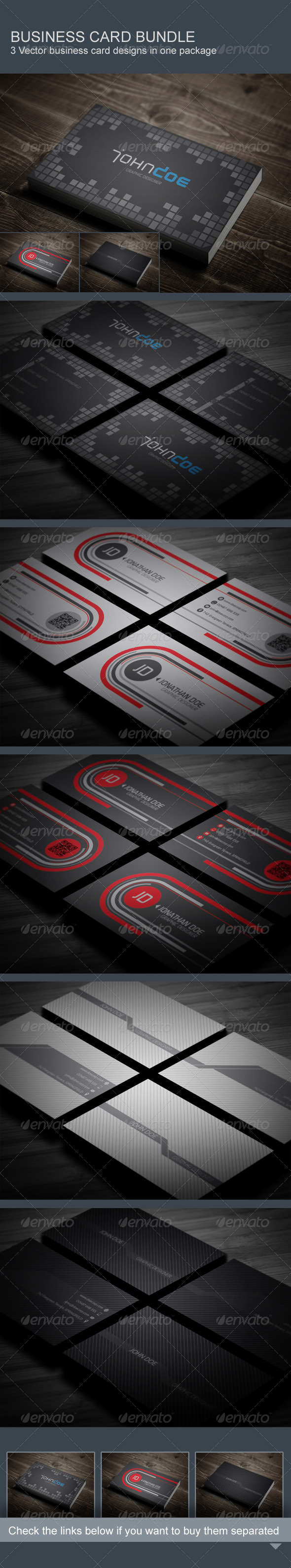 GraphicRiver Business Card Bundle 8047844