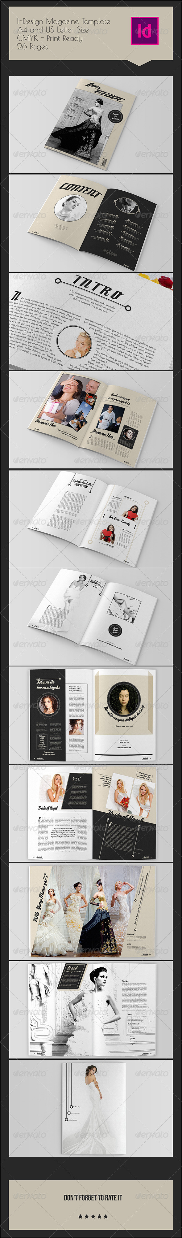 GraphicRiver InDesign Magazine Template 26 Pages 8048103