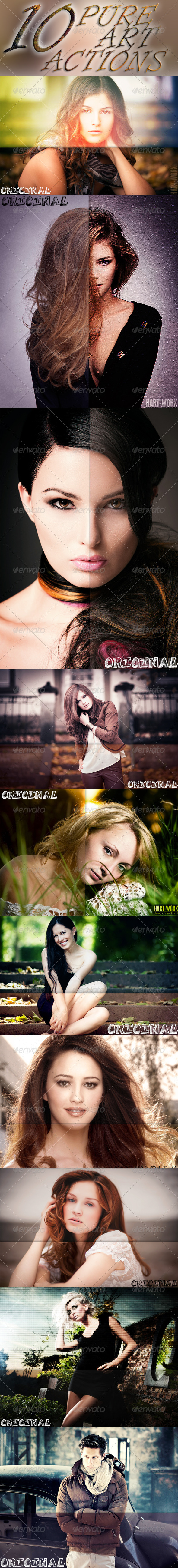 GraphicRiver 10 Ps Actions 8048111