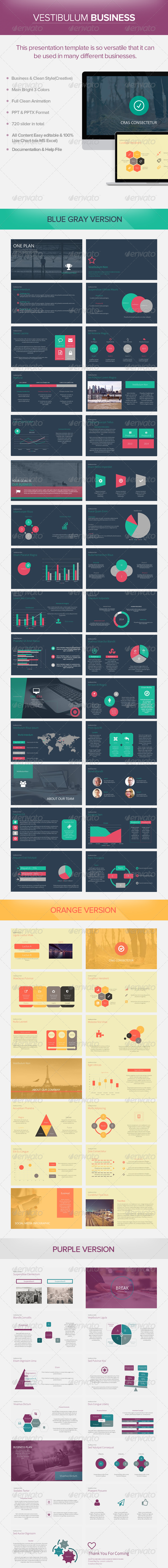 GraphicRiver Vestibulum Business Powerpoint Presentation 7934629