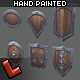 'Militia' shields set