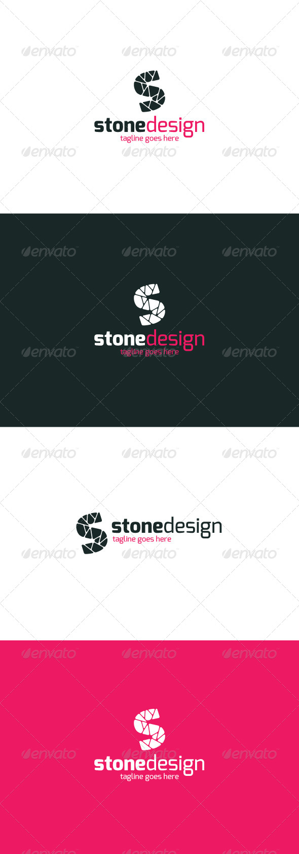 GraphicRiver Stone Design Logo Letter S 8048181