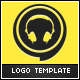 DJ Events Logo Template - GraphicRiver Item for Sale