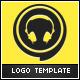 DJ Events Logo Template