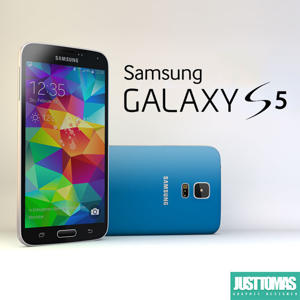 Samsung Galaxy S5 - 3DOcean Item for Sale