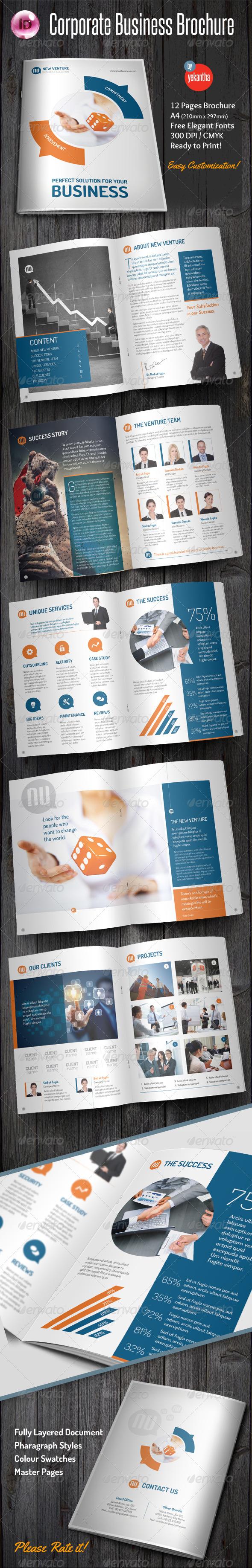 GraphicRiver Corporate Business Brochure 8046894