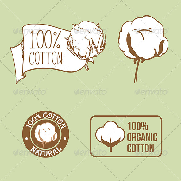 GraphicRiver Cotton Labels 8048286