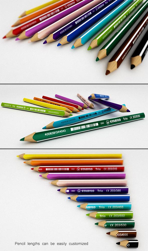 Color Pencil Set