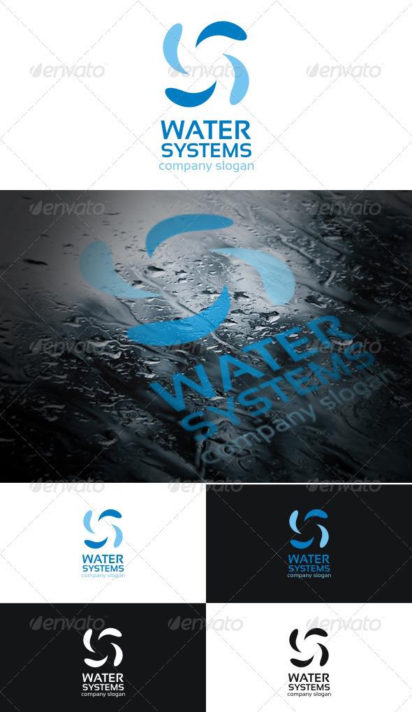 Water Systems Logo - Symbols Logo Templates