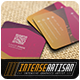 Square Business Card V.2 - GraphicRiver Item for Sale