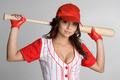 Female Baseball Player - PhotoDune Item for Sale