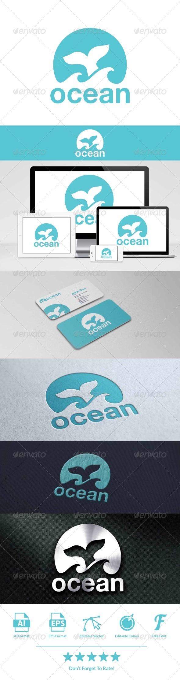 GraphicRiver Ocean Logo 8048363