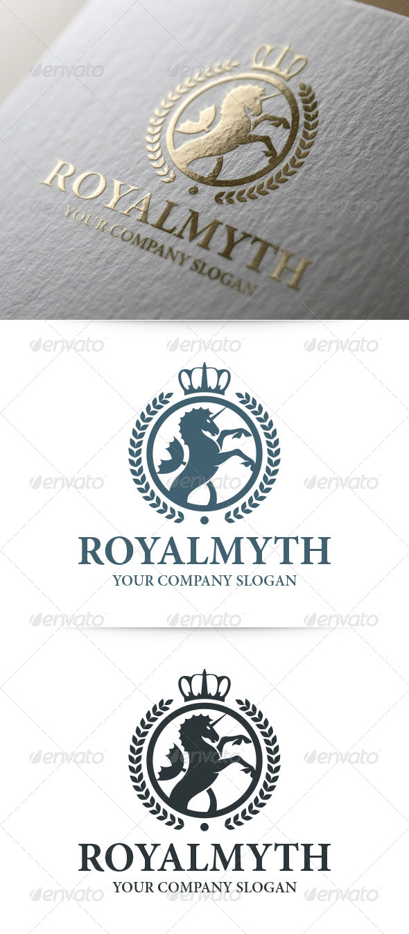 GraphicRiver Royal Myth Logo Template 8048389