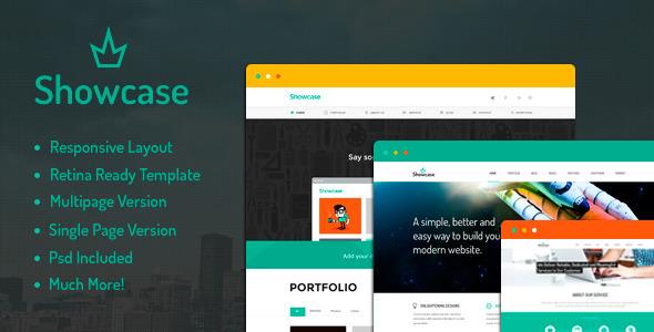 - Showcase – Multipurpose HTML Template