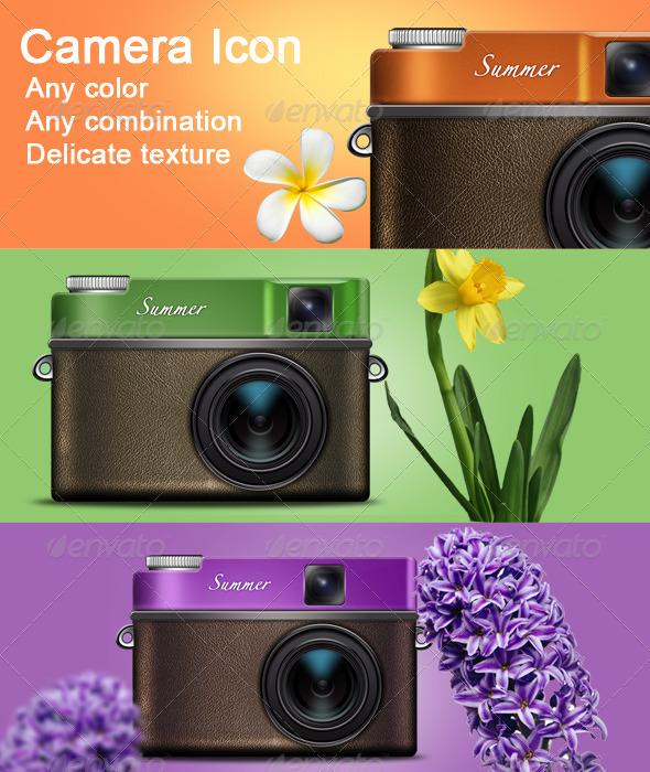 GraphicRiver Camera ICON 821714