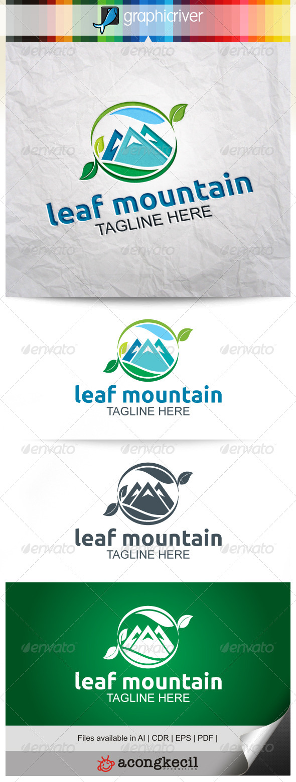 GraphicRiver Leaf Mountain V.2 8048898
