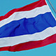 Thai National Flag Fluttering in the Wind - VideoHive Item for Sale