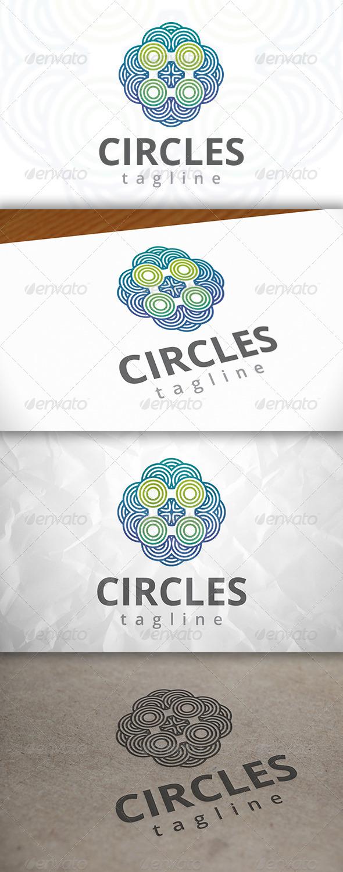 GraphicRiver Abstract Circles Logo 8048932