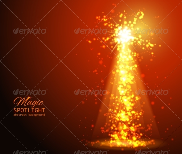 GraphicRiver Abstract Sunburst Ardent Background 8048938