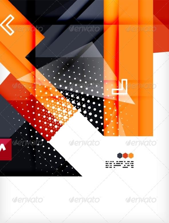 GraphicRiver Futuristic Modern Background 8049109