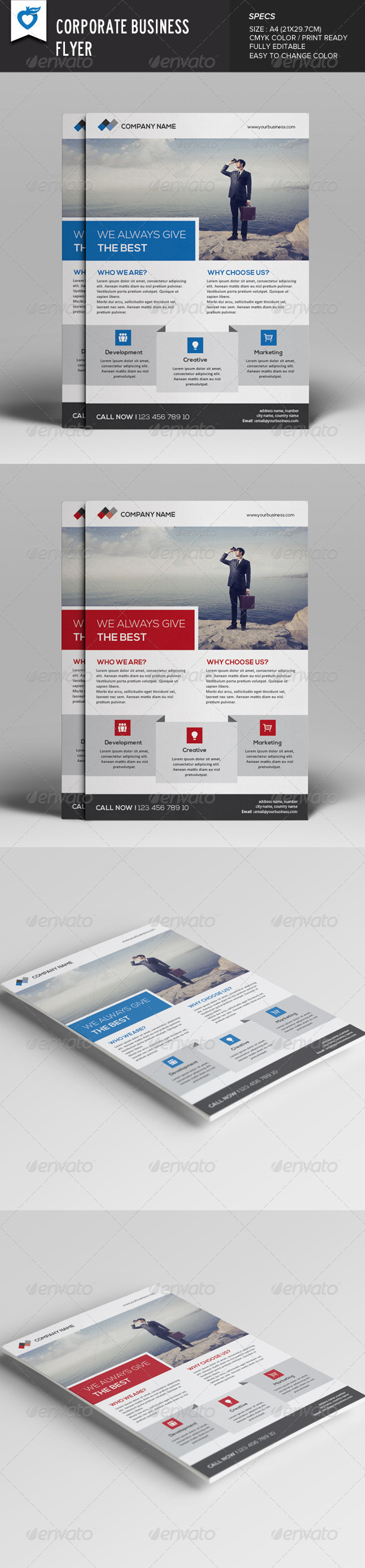 GraphicRiver Corporate Business Flyer v11 8049156