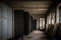 Dark room with steel lockers - PhotoDune Item for Sale