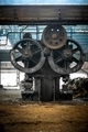 Large industrial hall with cogs - PhotoDune Item for Sale
