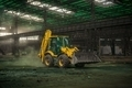 Industrial interior with bulldozer inside - PhotoDune Item for Sale