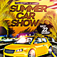 Summer Car Show Flyer PSD - GraphicRiver Item for Sale