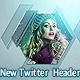 Abstruct New Twitter Profile Header Backround - GraphicRiver Item for Sale
