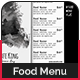 Classic Menu Template 4 - GraphicRiver Item for Sale