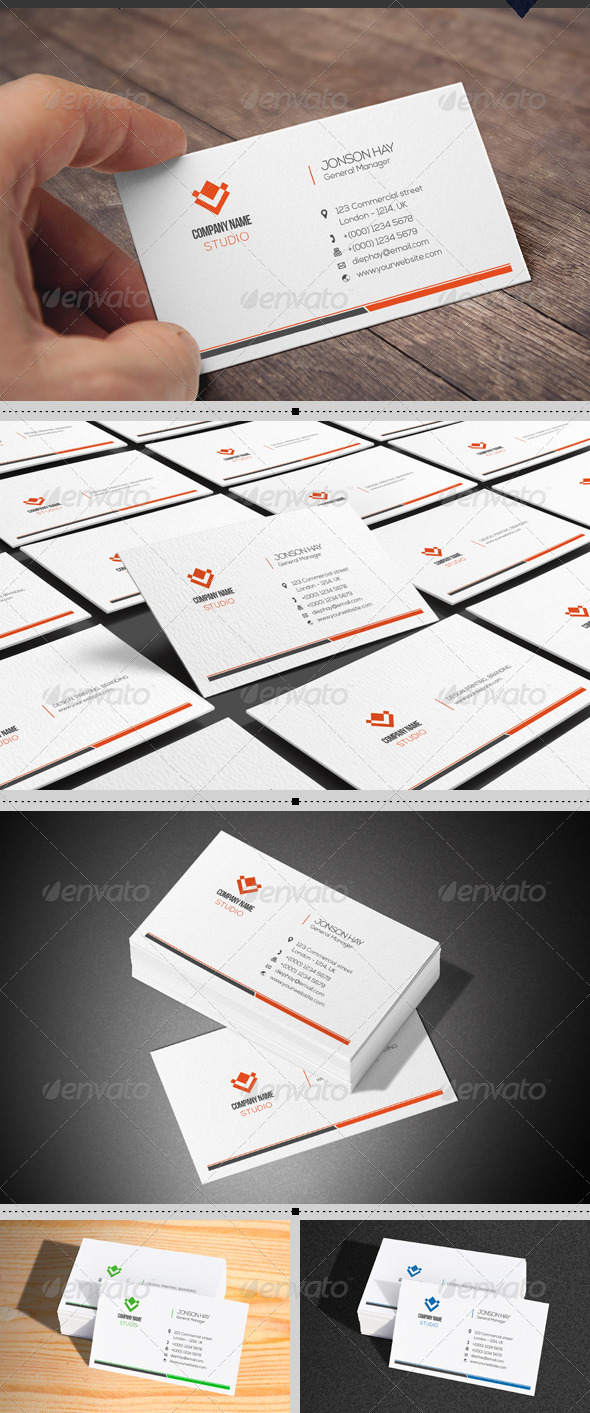 GraphicRiver Creative Business Card 8050211